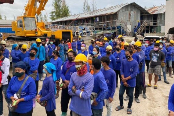 Large worker camps in Thalang targetted in COVID crackdown